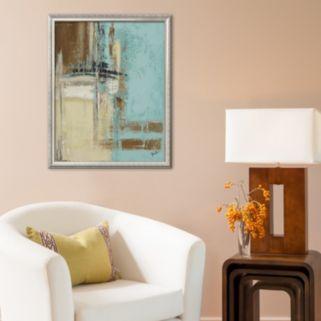 Art.com Oxido on Teal II Framed Art Print by Patricia Quintero-Pinto