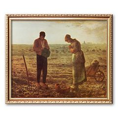 Art.com 'Angelus' Framed Art Print by Jean-Francois Millet