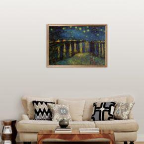 Art.com Starry Night Over the Rhone, c.1888 Framed Art Print by Vincent van Gogh
