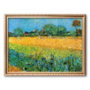 "Art.com ""View of Arles with Irises"" Framed Art Print by Vincent van Gogh"