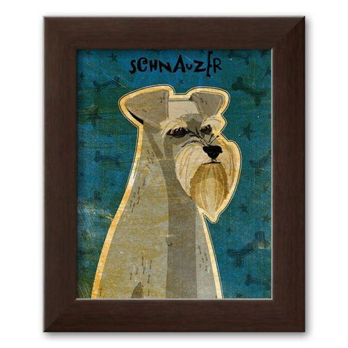 Art.com Schnauzer Framed Art Print by John Golden