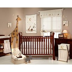 NoJo Dreamy Nights 4 pc Crib Set