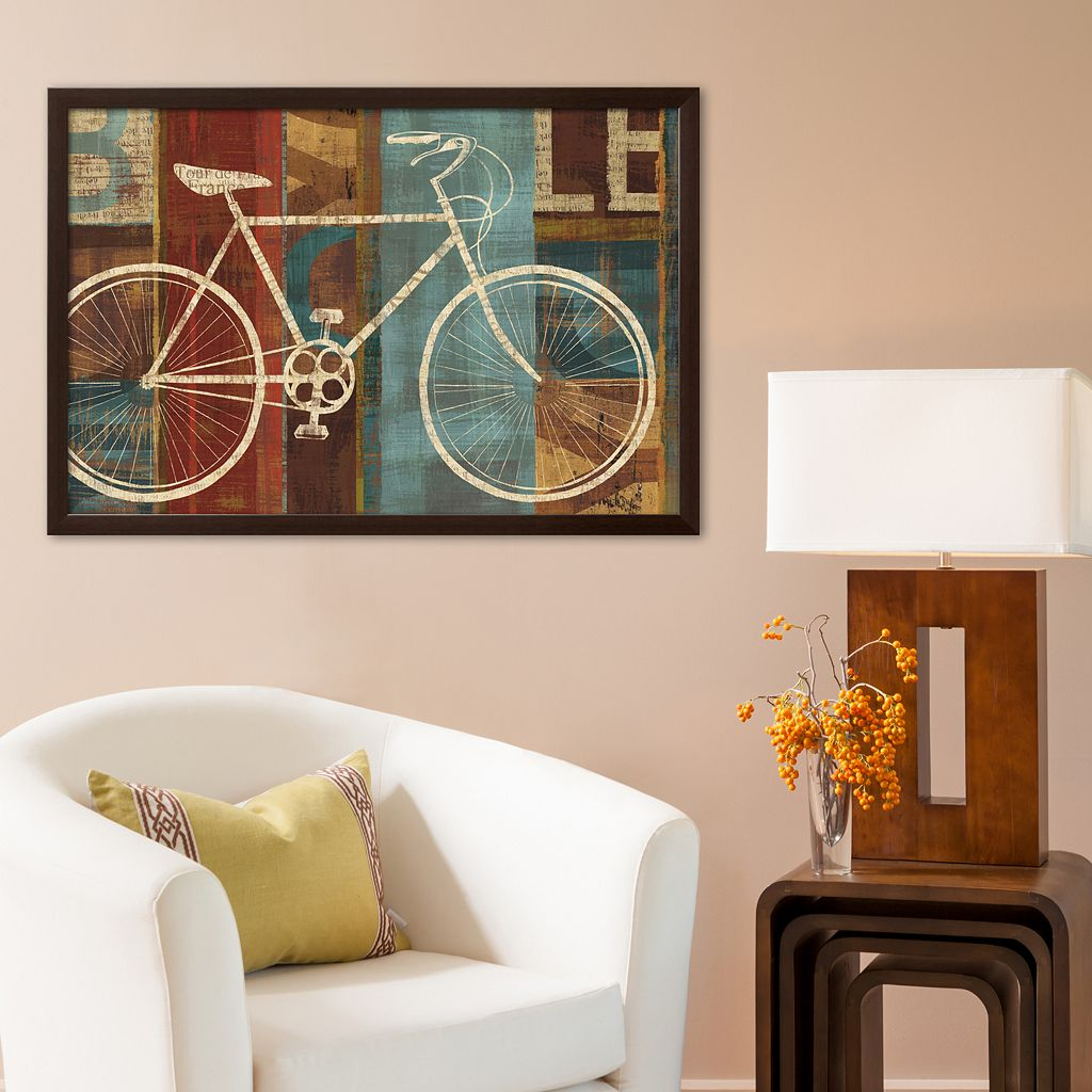 Art.com Breaking Away Framed Art Print by Michael Mullan
