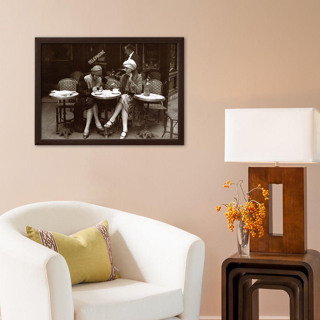 Art.com Cafe et Cigarette Paris, 1925 Framed Art Print