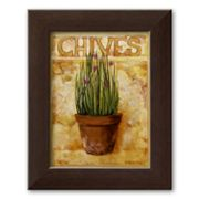 Art.com Chives Framed Art Print by Carol Elizabeth