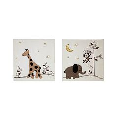 NoJo Dreamy Nights 2-pk. Wall Art