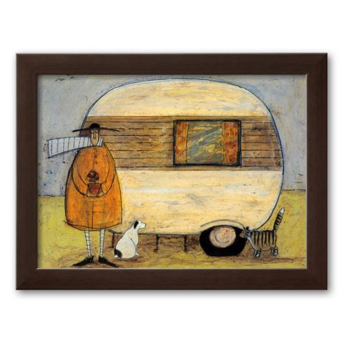 Art.com Home from Home Framed Art Print by Sam Toft