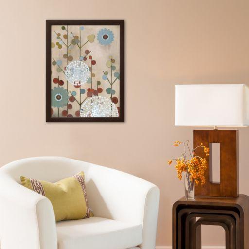 Art.com Mod Blossom Framed Art Print by Sally Bennett Baxley