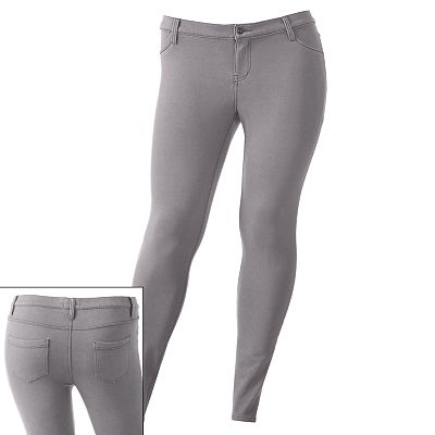 Mudd Color Jeggings - Juniors' Plus