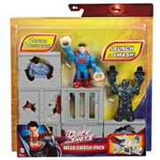 Superman Man of Steel Quickshots Mega Smash Pack by Mattel