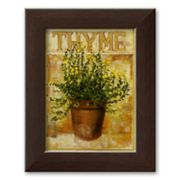 Art.com Thyme Framed Art Print by Carol Elizabeth