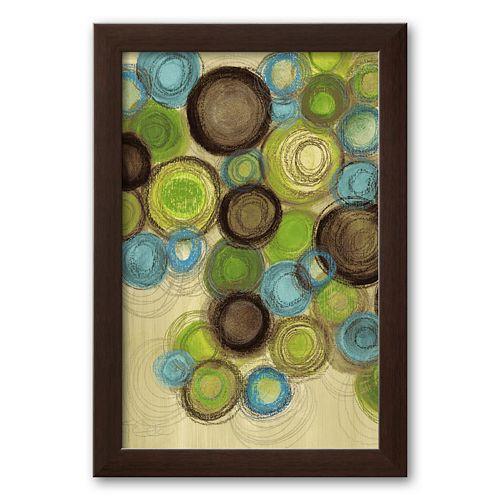 """Art.com """"Whimsy I"""" Framed Art Print by Jeni Lee"""