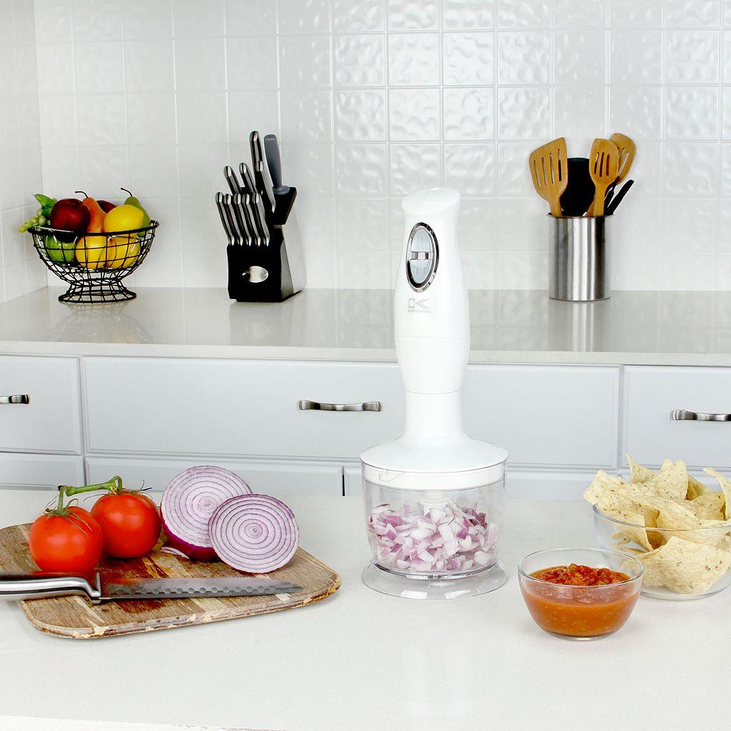 Kalorik 3-in-1 Stick Hand Blender