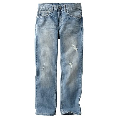 Urban Pipeline Slim Straight-Leg Jeans - Boys 8-20