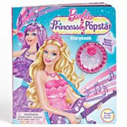 Barbie The Princess and The Pop Star Storybook by Mattel