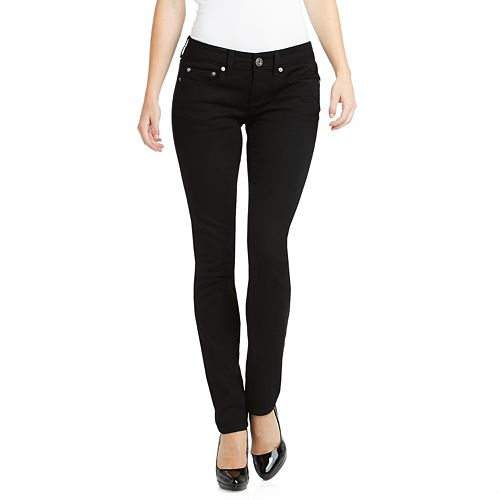 Juniors' SO® Black Skinny Jeans