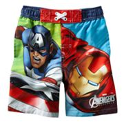 Marvel Avengers Assemble Swim Trunks - Toddler