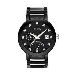 Bulova Men's Diamond Two Tone Stainless Steel Watch - 98D109
