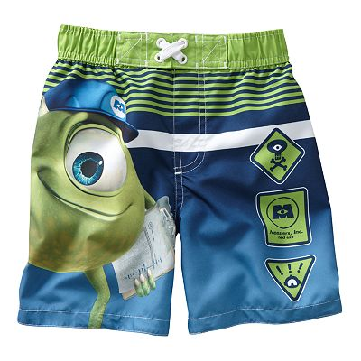 Disney/Pixar Monsters Inc. Swim Trunks - Toddler