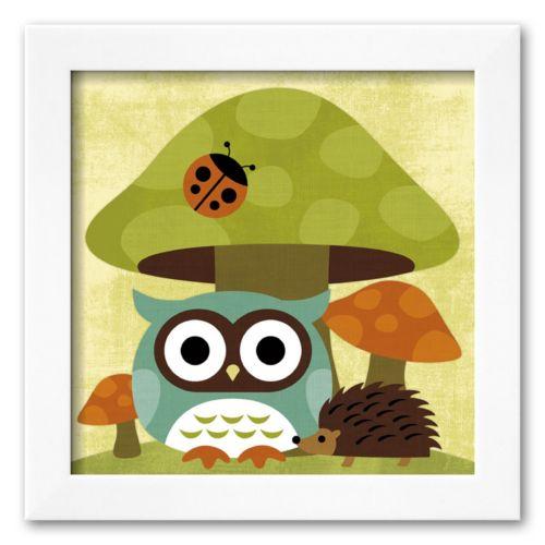 Art.com Owl and Hedgehog Frame...