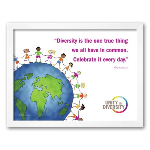 Art.com Celebrate Diversity Framed Art Print