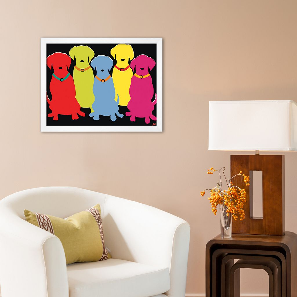 Art.com Five Labs Framed Art Print by Jim Williams