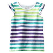 Jumping Beans Striped Top - Toddler