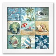 Art.com Ocean Front Framed Art Print by Gregory Gorham
