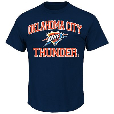 Oklahoma City Thunder Solid Tee - Big and Tall