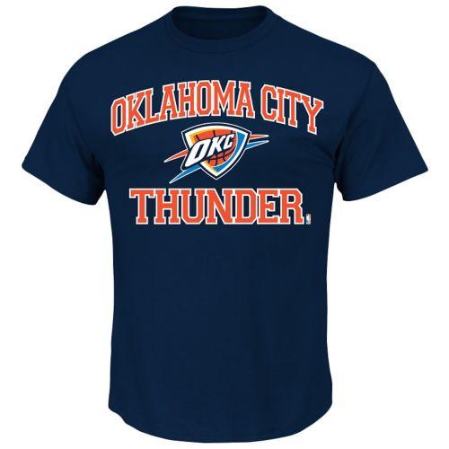 Oklahoma City Thunder Solid Tee - Big and Tall