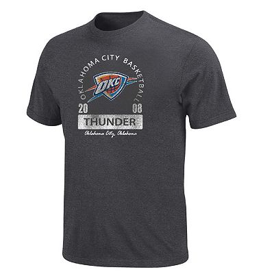 Oklahoma City Thunder Distressed Tee - Big and Tall