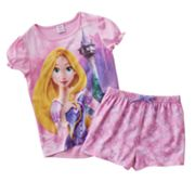 Disney Princess Rapunzel Pajama Set - Girls