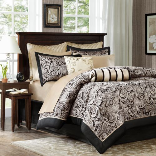 Madison Park Wellington 12-pc. Comforter Bed - Queen