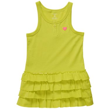 Carter's Ruffle Knit Tunic - Toddler