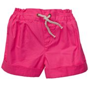 Carter's Solid Pleated Woven Shorts - Toddler