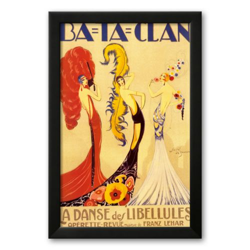 Art.com Ba-Ta-Clan Framed Art Print By Jose de Zamora