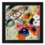 "Art.com ""Black Lines, c. 1913"" Framed Art Print By Wassily Kandinsky"