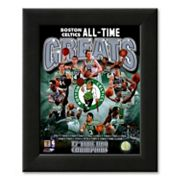 Art.com Boston Celtics All Time Greats Composite Framed Art Print