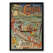 Art.com Carnaval de Venise Framed Art Print