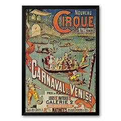 Art.com 'Carnaval de Venise' Framed Art Print