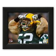 Art.com Clay Matthews 2010 Action Framed Art Print