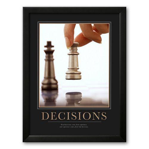 Art.com Decisions Framed Art Print