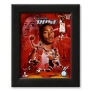Art.com Derrick Rose 2011 Portrait Plus Framed Art Print