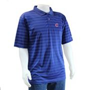 Chicago Cubs Striped Polo - Men