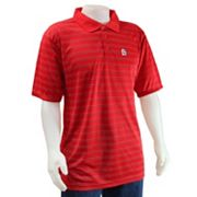 St. Louis Cardinals Striped Polo - Men
