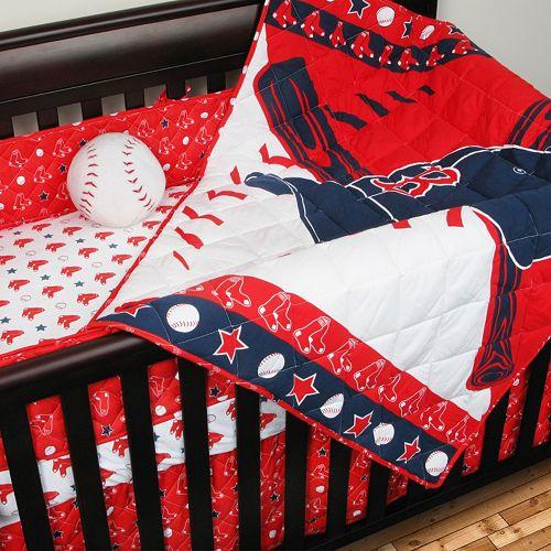 Boston Red Sox 4-pc. Crib Set 1ed2b4833268