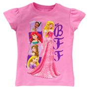 Disney Princess BFF Tee - Girls 4-6x