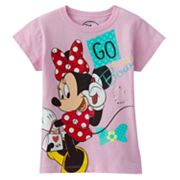 Disney Mickey Mouse and Friends Minnie Mouse Go for the Bow Tee - Girls 4-6x