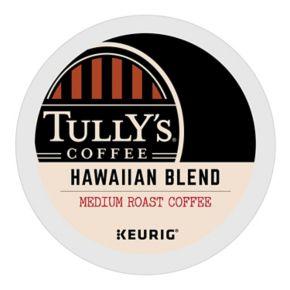 Keurig® K-Cup® Pod Tully's Coffee Hawaiian Blend Medium Roast Coffee - 18-pk.