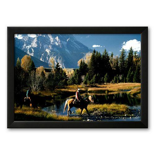 Art.com Freedom: Cowboys Framed Art Print